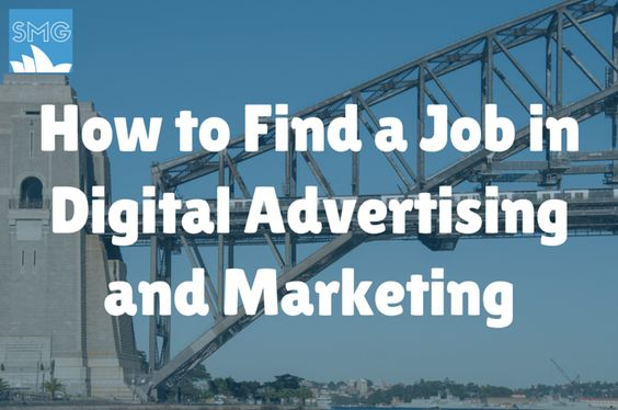 Are You Looking For a Job in Digital Advertising or Marketing in Australia?