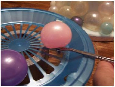 how to make gelatin bubbles for cakes or cupcakes