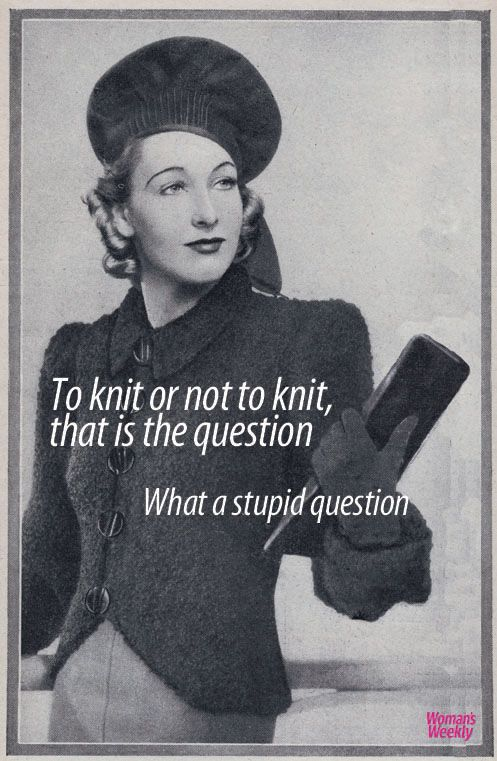 Knitting quotes: