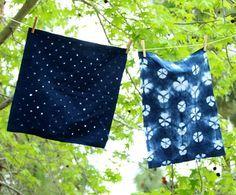 In Love With Indigo: 3 DIY Indigo Tie Dye Patterns