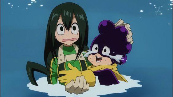 Lợi dụng tình hình, Mineta cố tình chạm vào người Tsuyu, người như này có xứng đáng được học?