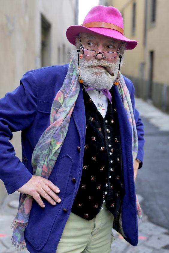 ADVANCED STYLE: Wanny Di Filippo, Firenze                                                                                                                                                     More: