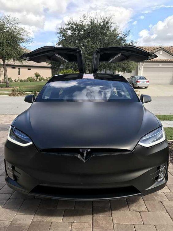 Pin By Saminashortyali On Cars Matte Cars Tesla Model X Matte Black Cars