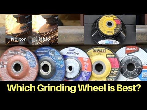 Which Metal Grinding Wheel Is Best Let S Find Out Youtube Metal Grinding Metal Working Metal