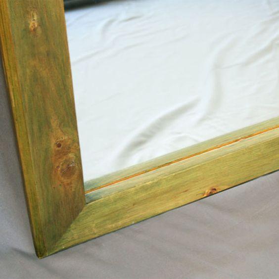 Handmade Full Length Mirror  Floor Standing by birdsmouth on Etsy, $300.00