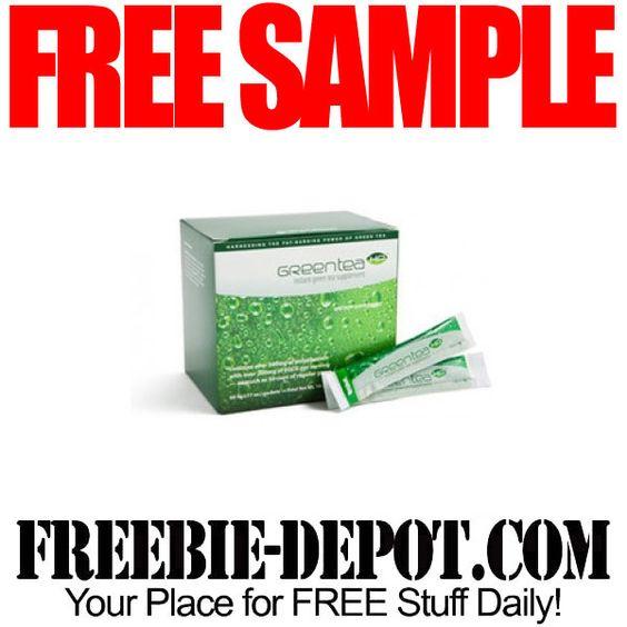 ▻▻ FREE SAMPLE - Green Tea HP - FREE Green Tea Mix Pixie Sample - free mail sample