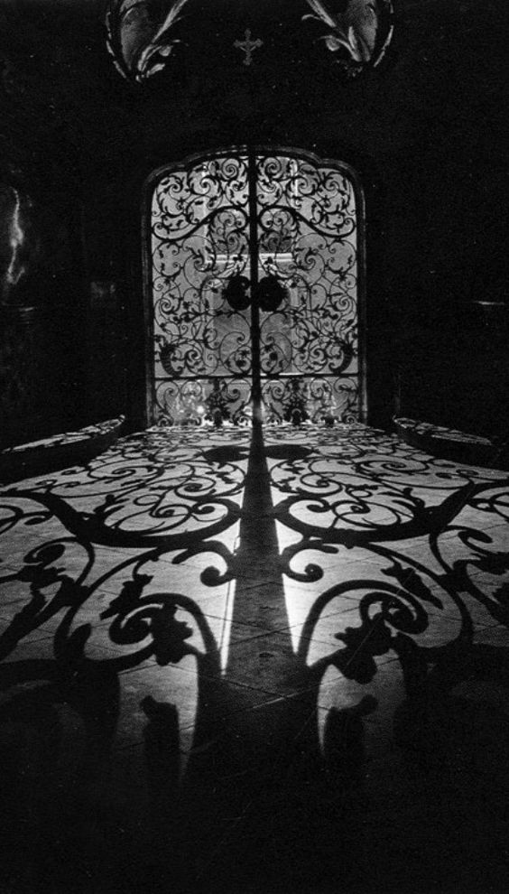 In my dreams the swirls of light send shadows dancing across the floor and two doors stand between me and destiny. I hesitate because going through means leaving behind what I know. And yet, as the shadows swirl what I know begins to slip away even as I stand gazing.