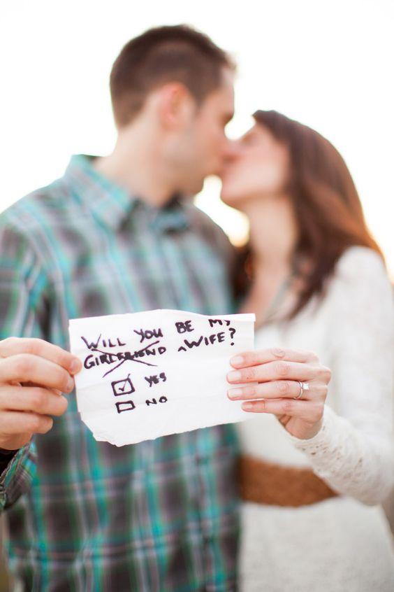 Super cute proposal