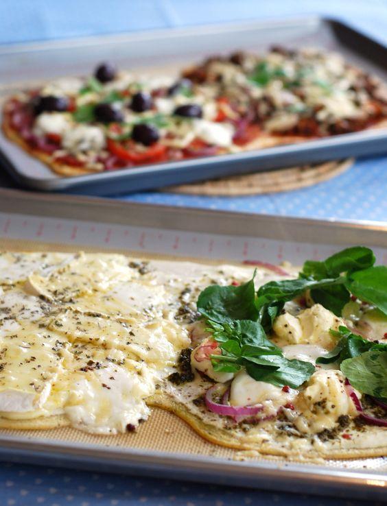 Pizza sem carboidratos