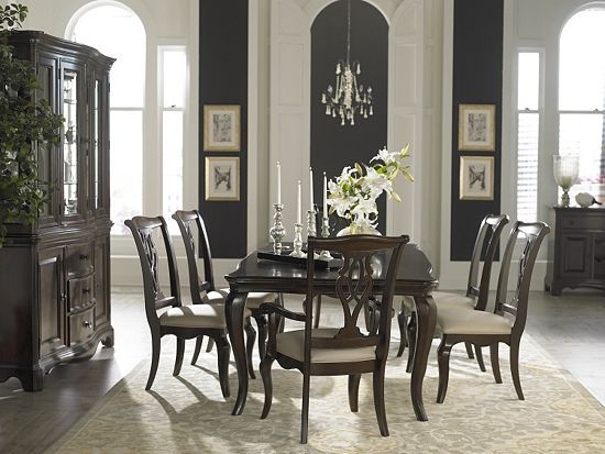 Dining rooms sutton place china cabinet dining rooms for Dining room tables havertys