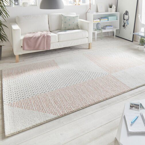Madison Peach Cream Rug Our Home Decor In 2019 Mint