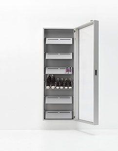 "Shoe rack ""Box"" - Kristalia"