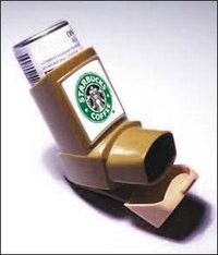 starbucks inhaler ~ for the afternoon sleepy's :) if only....