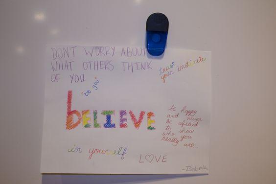 Believe by Isabela