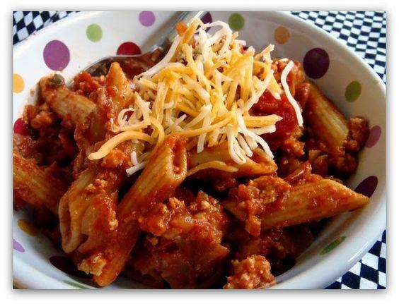 Weight Watches: Cheesy Chili Mac - YUMM-O! (7 points)