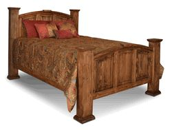 Santa Rosa Rustic Mansion Bed