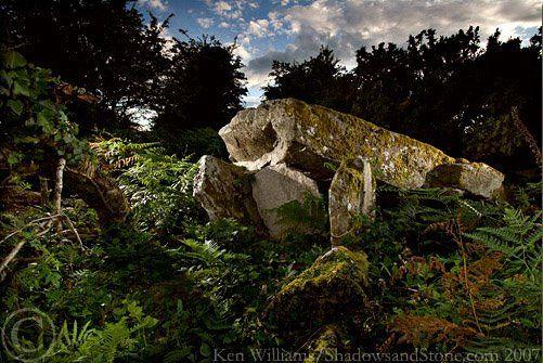 The Banshee Stone' Megaltihic Tomb, Co. Carlow