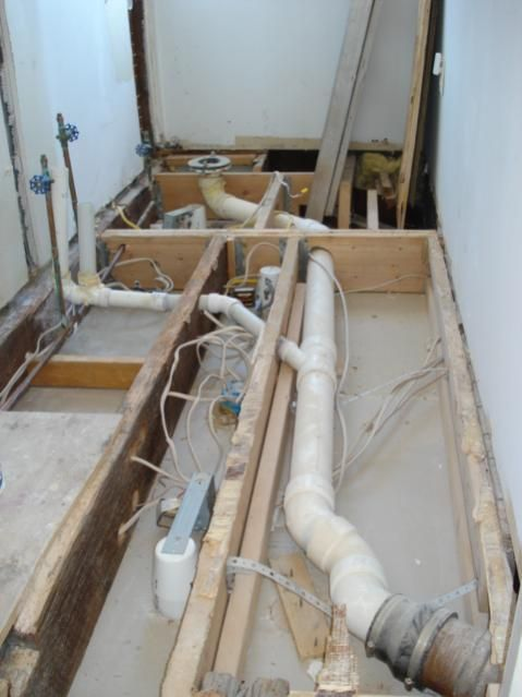 Toilets on pinterest for How to plumb a basement bathroom