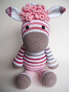 You can use this pattern to change donkey Alex in Zoe Zebra.