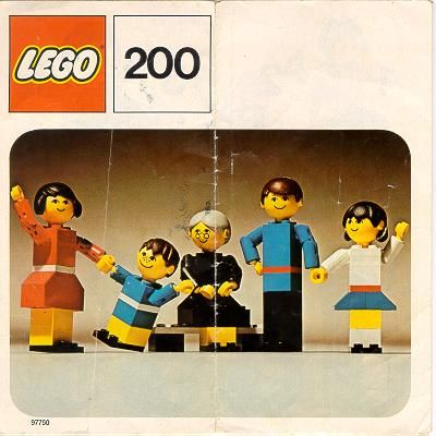 Lego Family (1974) - I've still got them! I have the boy and the girl