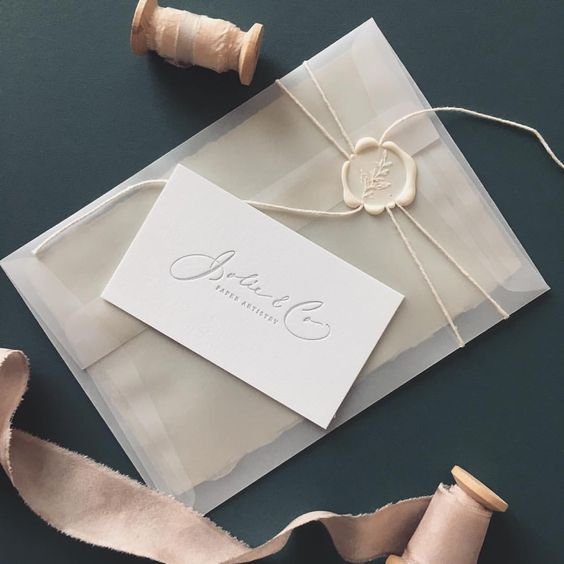 Looking For Wedding Invitation Design Try This 35 Vellum Envelope Design Ide Wedding Invitation Trends Wedding Invitation Envelopes Trendy Wedding Invitations