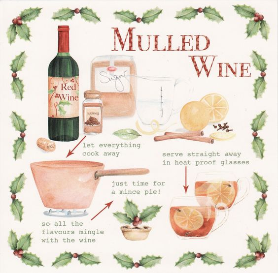 Mulled Wine (replacing with manischewitz for THANKSGIVUKAHHHH!):