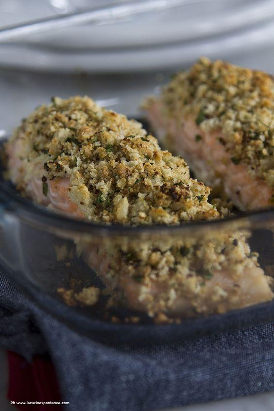 Filetti di salmone con senape e lime - La cucina spontanea - ricette, fotografie e parole.