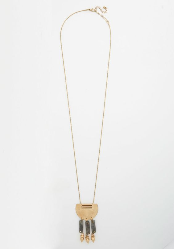 Santa Fe Charm Necklace.