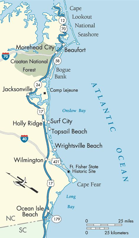 SC: After Beaufort, NC, stop at South of the Border (maybe stay, maybe not)