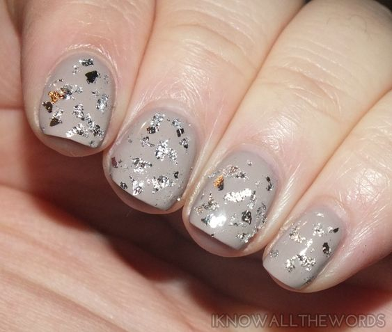 Born Pretty Store Gold and Silver Nail Art Foil (6):
