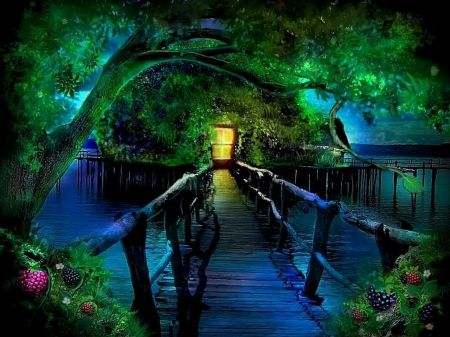 Fantasy land 3d and cg wallpaper id 1171737 desktop - Fantasy wallpaper bridge ...