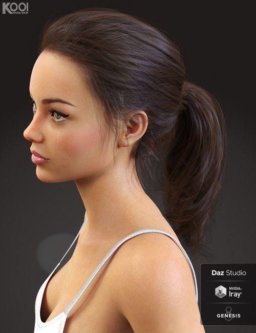 Bonnie Hair For Genesis 8 Female S 3d Hair Dazstudio 3dmodel Womens Hairstyles Hair Long Hair Styles