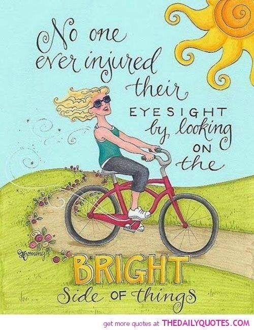 No one ever injured their eye sight.....