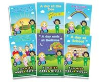 Fun with Abby & Alyssa Six Book Bundle  Manufacturer Direct Price: $57.95  	    Price includes six books. This six book set provides a great introduction to American Sign Language (ASL) in a fun reading format. Children will love meeting Abby and Alyssa and following them as they sign their way though daily activities.  See Series 1 and Series 2 details for information on the books or click here to learn more
