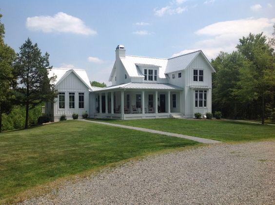 New White Farmhouse In North Carolina Rankin Road Project
