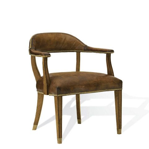 Dining chairs office games and chairs on pinterest for Ralph lauren office furniture