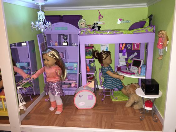 Ammerican Girl Doll Rooms