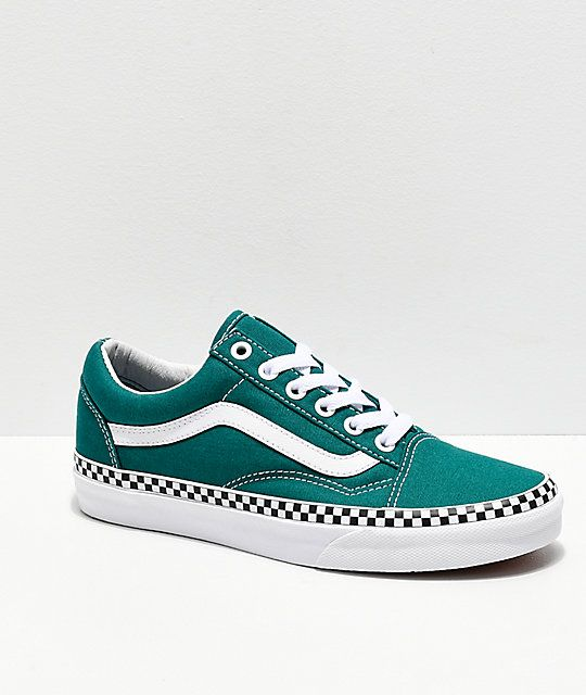 Sale OFF-62%|teal checkered vans womens
