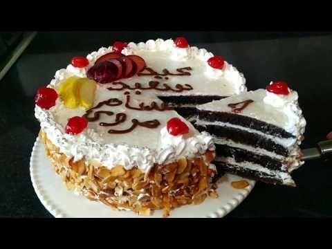 أسهل وأرخص حلوة لاكريم بدون فرن وفقط ب10دراهم كريمة Youtube Cake Desserts Sweet