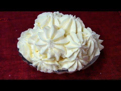 Qaymaqli Krem Plombir Kremi Zavarnoy Krem Dondurma Dadinda Cox Ləzzətli Və Sərfəli Krem Youtube Food Desserts Nutrition