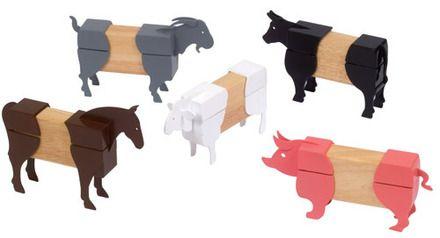 Guide Craft Toys - Block Mates Farm Animals
