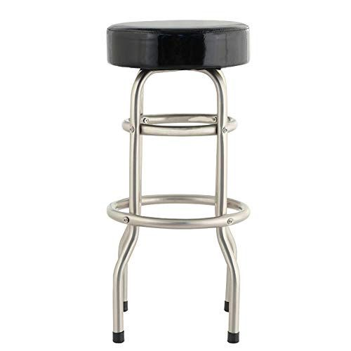 Jbbfqy Fh Stainless Steel Stool Cashier Desk Front Chair High Wrought Iron Bar Stool Chair Modern Minimali Steel Stool Wrought Iron Bar Stools Iron Bar Stools