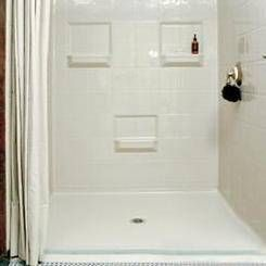 how to clean fiberglass tub and shower