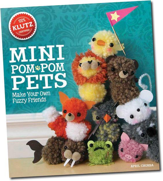 Klutz Mini Pom Pom Pets