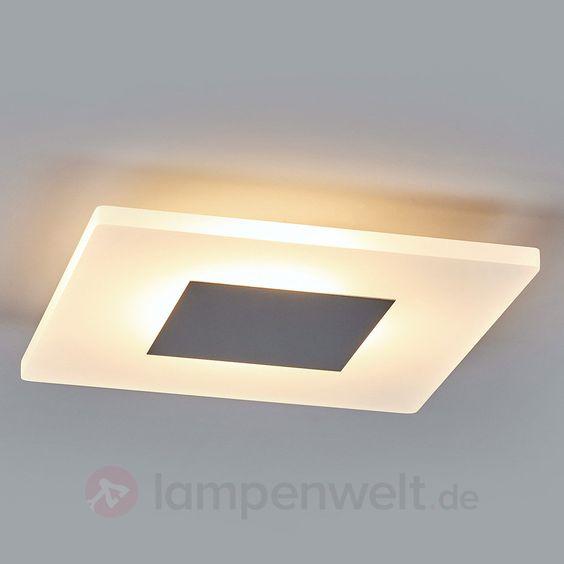 Tarja - eckige LED-Deckenleuchte sicher & bequem online bestellen ...