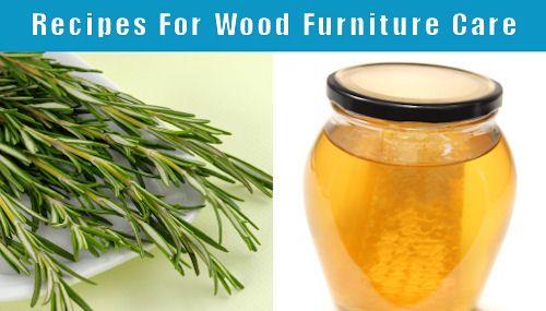 Homemade Furniture Polish Cleaner Varnish Remover