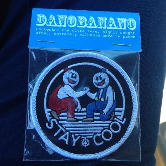 You'd like this one by hondadoc84 #retrogaming #microhobbit (o) http://ift.tt/20Ujt1z out to @xjohnny5salivex for hooking me up with this ultra rare highly sought after extremely valuable novelty patch from @dano_brown.  Thanks buddy.  #retrocollective #snowbros