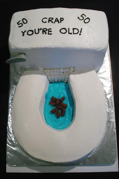Toilets Over The Hill And Birthday Cakes On Pinterest