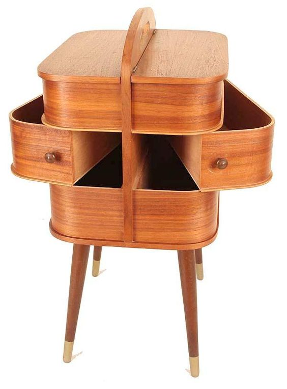 Cool sewing cabinet.