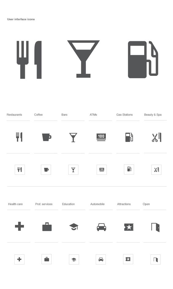 Roger Oddone - Google Local and Mobile Maps #iconography #icon